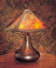 Mission, Arts & Crafts Onion Style MicaTable Lamp #006, Stickley era