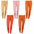 Edwina New Womens Super Skinny Coloured Denim Skinny Ladies Jeans Trousers