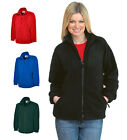 Ladies Full Zip Classic Fleece Jackets Size 6 to 32 - SPORTS CASUAL LEISURE WORK