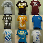 Aeropostale Mens Graphic T Shirts Random Lot of 2 AERO Men Tee Shirt Sale Lots