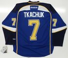 KEITH TKACHUK ST LOUIS BLUES REEBOK PREMIER HOME JERSEY NEW WITH TAGS