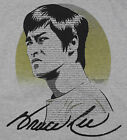 Bruce Lee Type T-Shirt Black Martial Arts Yin Yang BABA