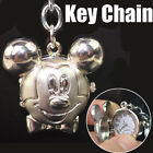 New Mini Fashion Cute Stainless Steel Pendant Quartz Pocket Watch Key Chain 6831