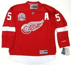 NICKLAS LIDSTROM DETROIT RED WINGS 2002 CUP REEBOK PREMIER HOME JERSEY