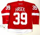 DOMINIK HASEK DETROIT RED WINGS REEBOK PREMIER HOME JERSEY NEW WITH TAGS