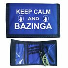 BIG BANG THEORY WALLET keep calm BAZINGA sheldon RIPPER - T shirt in shop bl3