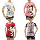 Damen Schlafanzug kurz Shorty Pyjama Betty Boop Original NEU OVP Gr. S M L