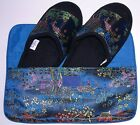 Asian Inspired Colorful Brocade Slipper - In - Pouch  Travel, Light Weight (NEW)