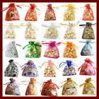 Elegant Jewllery Organza Sweet Wedding Party Favour Gift Bags Pouches 7 x 9