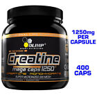 OLIMP CREATINE 1250 MEGA CAPS 400 CAPSULES - MICRONIZED PURE CREATINE