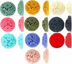 Round Daisy resin flat back cabochon flowers 18mm 15 pieces