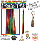 Rainbow Graduation Tassel - Many Years Available