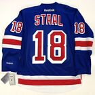 MARC STAAL NEW YORK RANGERS REEBOK PREMIER HOME JERSEY