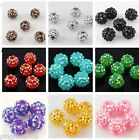 Jewelry Making 20 pcs 8mm Disco Ball Acrylicresin Rhinestones Charm Beads