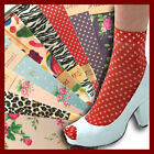 Fashion Printed Patterned Candy Ankle Socks Ladies Vintage PoP Spot Floral