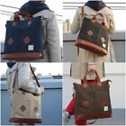 Canvas 3-Way Mens Backpacks Cross Body Messenger Backpack Bag Shoulder Tote Bags