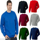 Mens Premium Sweatshirt Size XS to 4XL Crew Neck Sweater Thick 350gsm
