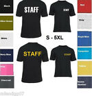 STAFF T-Shirt  Shirt Tee  S-5XL