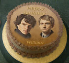 Personalised Sherlock Holmes Edible Cake Toppers