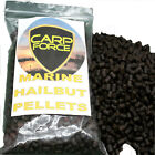 CARP FORCE MARINE HALIBUT PELLETS CARP BAIT 2mm, 4mm, 6mm,8mm VARIOUS QUANTITIES