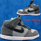 NEW TODDLERS INFANTS NIKE DUNK HI TOPS HIP HOP LACE UP TRAINERS UK SIZE 6 - 9.5