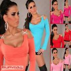 SEXY SIZE 8-10 WOMENS CLUB WEAR HOT PARTY CASUAL LONG SLEEVE OFF SHOULDER TOP