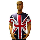 Tour Collection Union Jack Flag Mens / Kids Unisex T-Shirts Team GB 2018