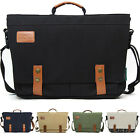 unihood Brand New Casual Canvas Mens Bag Shoulder Crossbody Messenger Bags