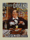 Absinthe Oxygenee Cusenier Restaurant Bar Vintage Tourism Poster Repro FREE S/H