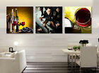 Wine and Party modern art Decorative Canvas Print Set High quality  - Framed