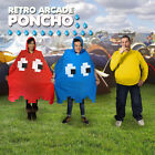 Retro Arcade Waterproof Poncho / Overcoat - Ideal for Festivals