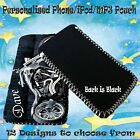 Personalised Mobile Phone Cover / MP3 / iPod Pouch Sock Custom Bikes & Cars