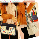 Korean Women handbag retro fashion canvas shoulder bag 4025