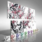 Chinese Trees and Birds Duo Offset Canvas Print Large Picture Wall Art