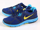 Nike LunarGlide+ 3 Drenched Blue/Yellow Light Lunarlon Running Shoes 454164-407