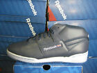 REEBOK MENS CLASSIC WORKOUT MID ATHLETIC NAVY-WHITE-ICE  V45570