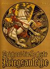 Saint St. George White Horse Dragon 1914 Germany Vintage Poster Repro FREE S/H