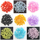 50 Frosted Lucite Lily Flower Beads 17 X 12mm For Jewellery Making & Beading