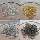wholesale 2000pcs Silver/Golden Plated Open Metal Jump Rings 4mm 6mm 8mm