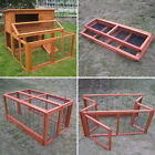 4FT LARGE DOUBLE RABBIT HUTCH / GUINEA PIG RUN / DELUXE PET HUTCHES / CAGE PETS