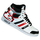 Men's New ADIDAS TOP TEN HI  White Leather Trainers V24143