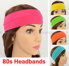 Dressup Disco 80 80s  Party Dance Costume Cotton Hair Control Head Band Headband