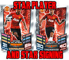 Both Star Player & Signing Match Attax 12/13 2013 Both shiny players & signings
