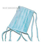 250 DISPOSABLE SURGICAL TIE ON face MASK Salon Dust Cleaning Flu Medical CE Mark