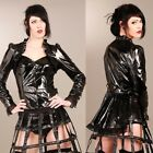 ANDERSARTIG Gwendolyne Riding Jacket Lackjacke PVC Vinyl Jacket GOTHIC STEAMPUNK