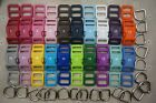 5 Sets, 5/8'' (16mm) -Dog Collar Hardware Kits -Super Strong, Multi color choice