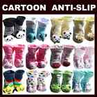 Unisex Baby Socks Anti Slip Newborn Animal Shoes Slippers Boots Boy Girl Cotton