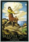 Silloth on the Solway, Cumbria. Vintage LNER Travel Poster by Stanislaus Brien