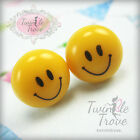 Cute Smiley Sweet Round Candy 10mm Stud Earrings;Xmas Stocking Party Bag Filler
