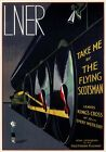 Take Me by The Flying Scotsman. LNER Vintage Travel Poster print by A R Thomson